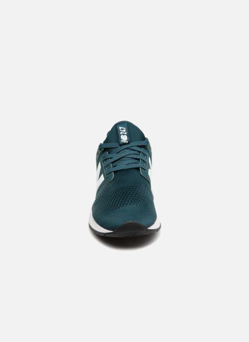 Sneaker New Balance MS247 grün schuhe getragen