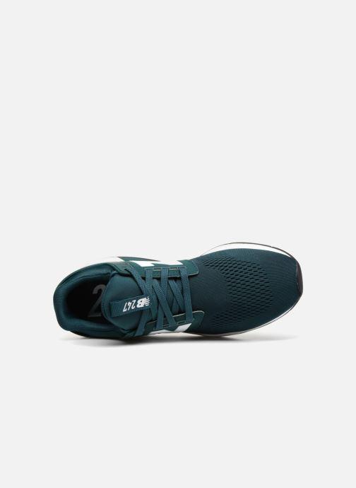 Sneaker New Balance MS247 grün ansicht von links