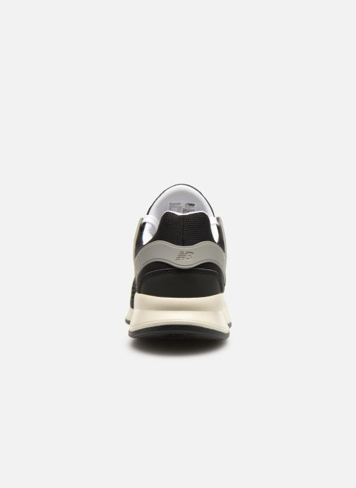 Sneaker New Balance MS247 schwarz ansicht von rechts