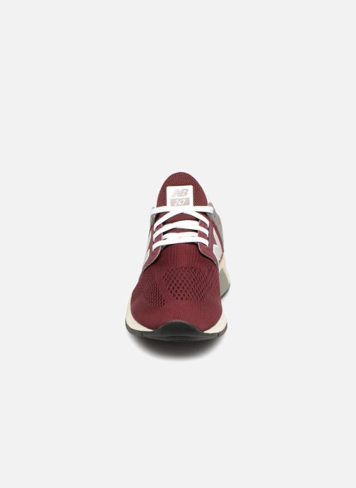 Trainers New Balance MS247 Burgundy model view