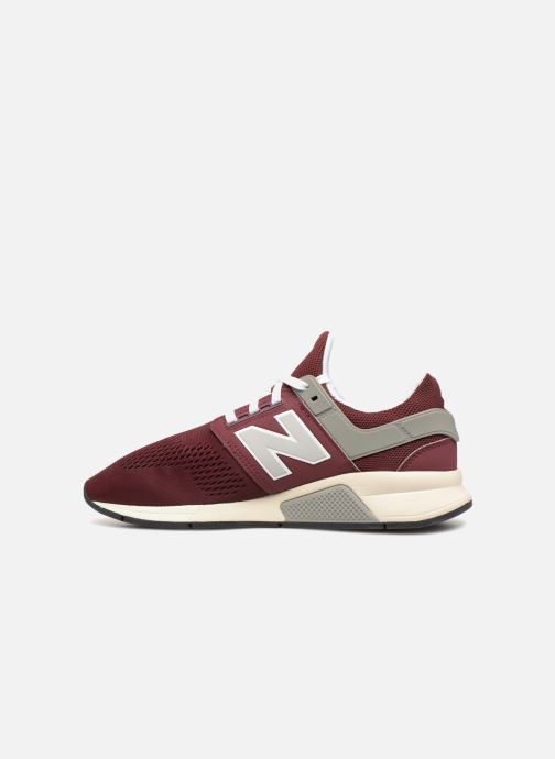 Trainers New Balance MS247 Burgundy front view