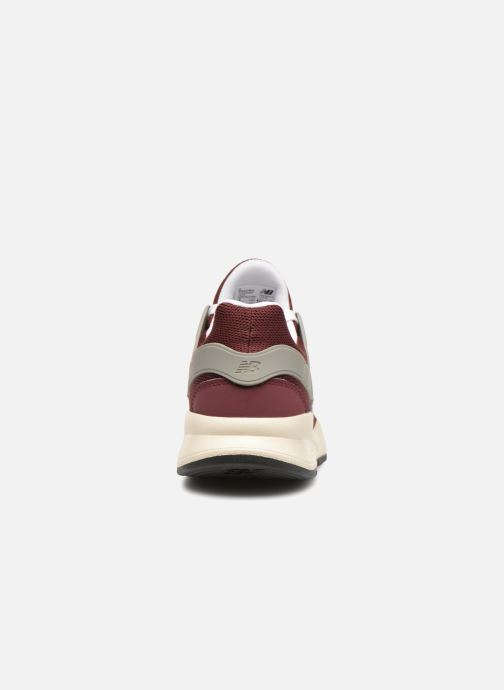 Trainers New Balance MS247 Burgundy view from the right