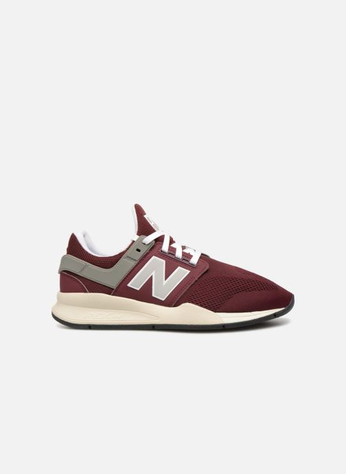 Trainers New Balance MS247 Burgundy back view