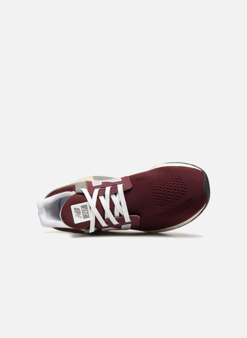 Trainers New Balance MS247 Burgundy view from the left