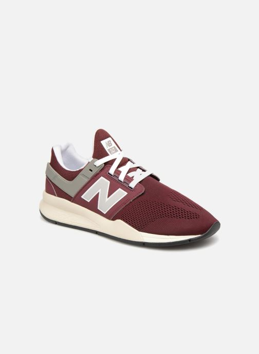 Trainers New Balance MS247 Burgundy detailed view/ Pair view