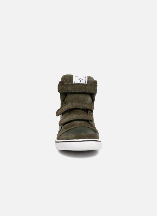 Sneakers Hummel Stadil Leather Jr Groen model