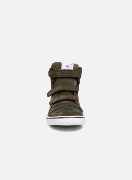 Sneakers Hummel Stadil Leather Jr Groen model