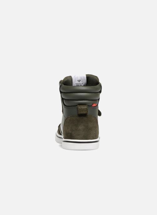 Sneakers Hummel Stadil Leather Jr Groen rechts