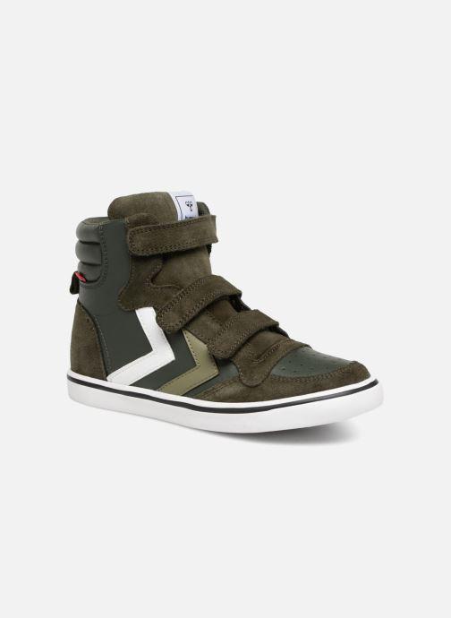 Sneakers Hummel Stadil Leather Jr Groen detail