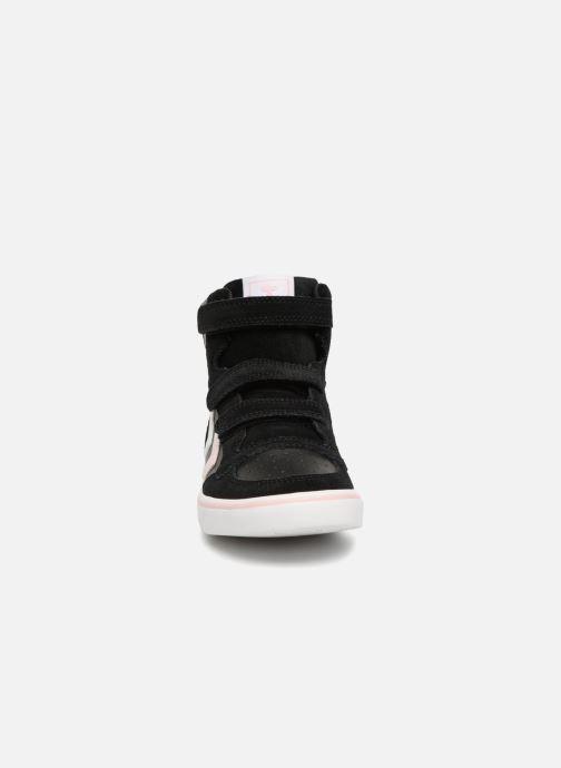 Sneakers Hummel Stadil Leather Jr Zwart model