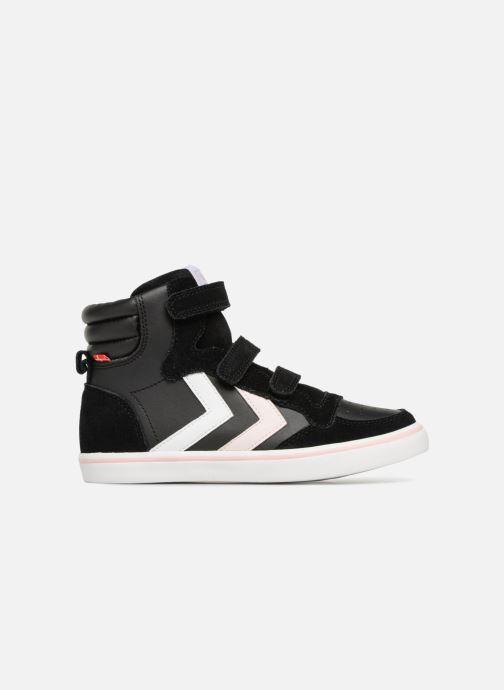 Sneakers Hummel Stadil Leather Jr Zwart achterkant