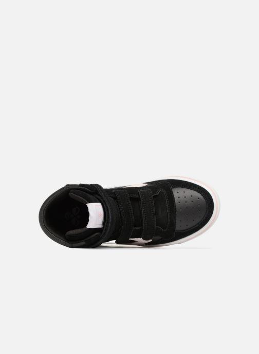 Sneakers Hummel Stadil Leather Jr Zwart links