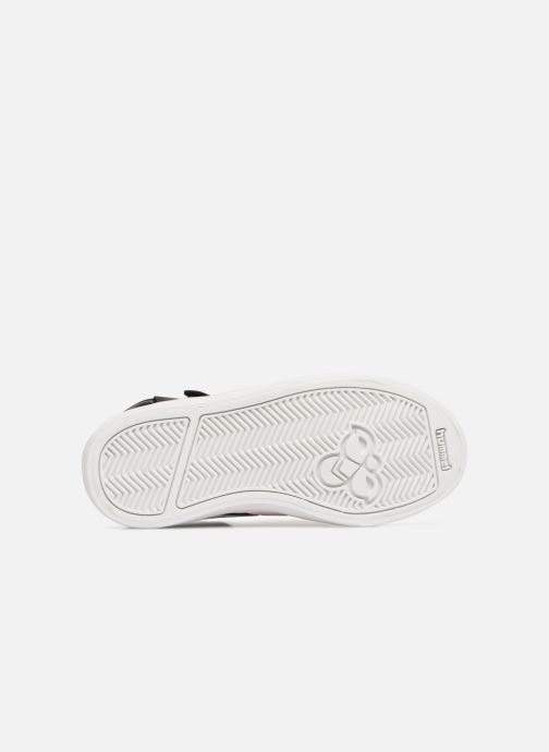 Sneakers Hummel Stadil Leather Jr Zwart boven