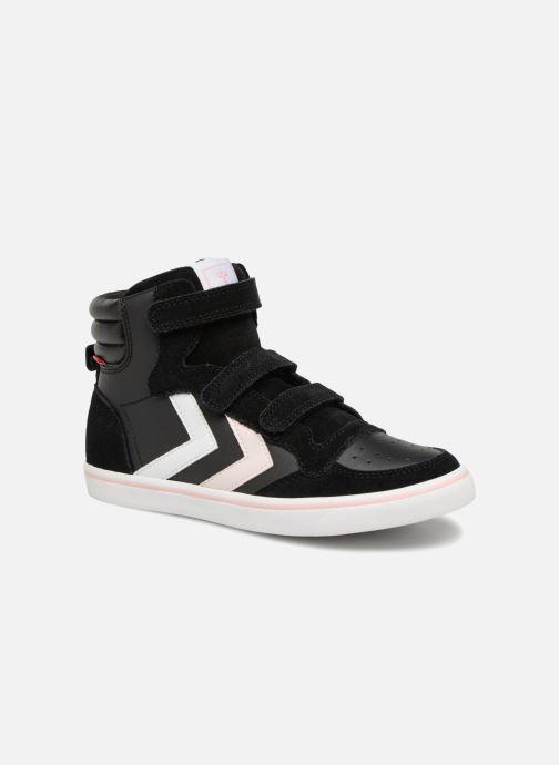 Sneakers Hummel Stadil Leather Jr Zwart detail