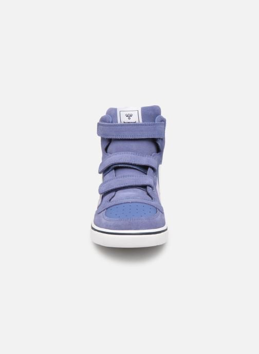 Sneakers Hummel Stadil Leather Jr Blauw model