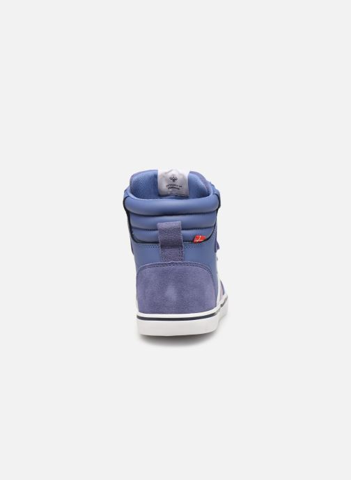 Sneakers Hummel Stadil Leather Jr Blauw rechts