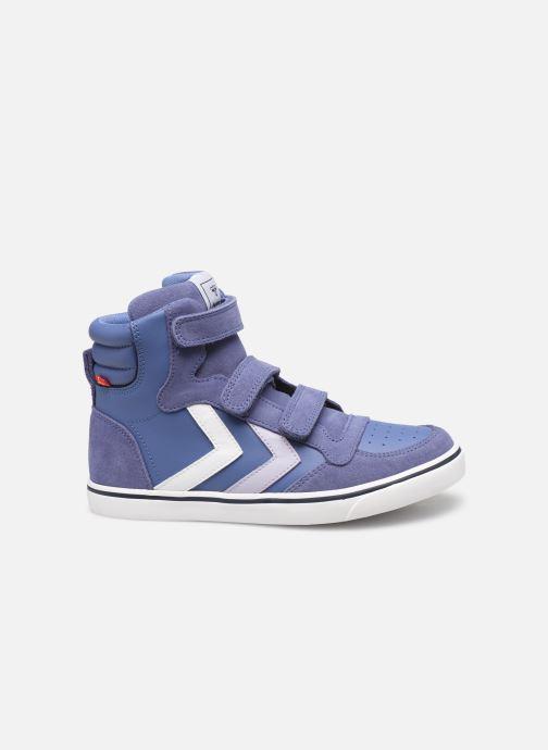 Sneakers Hummel Stadil Leather Jr Blauw achterkant