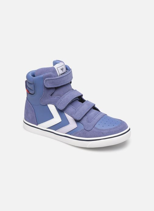 Sneakers Hummel Stadil Leather Jr Blauw detail