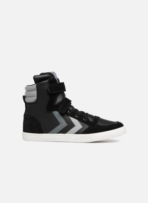 Sneakers Hummel Slimmer Stadil Jr Zwart achterkant
