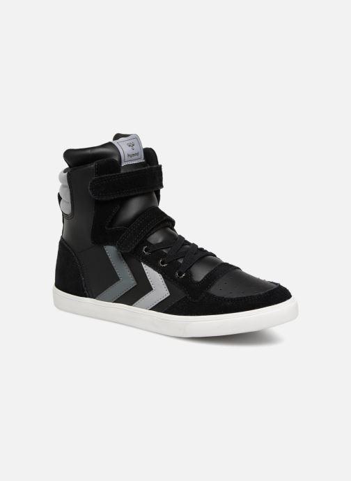 Sneakers Hummel Slimmer Stadil Jr Zwart detail