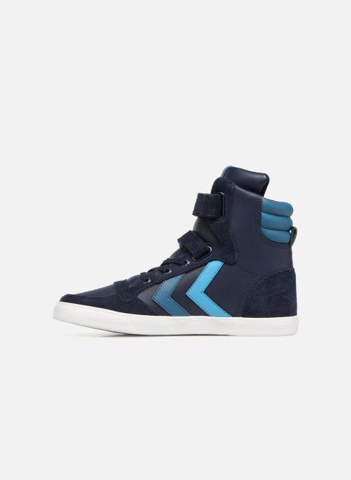 Sneakers Hummel Slimmer Stadil Jr Blauw voorkant