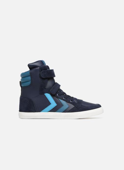 Sneakers Hummel Slimmer Stadil Jr Blauw achterkant