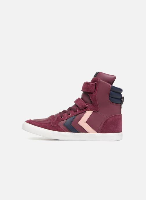 Sneakers Hummel Slimmer Stadil Jr Bordeaux voorkant