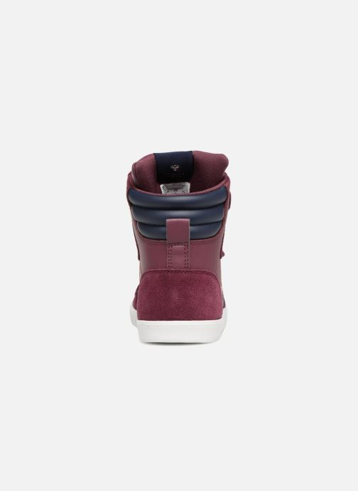 Sneakers Hummel Slimmer Stadil Jr Bordeaux rechts