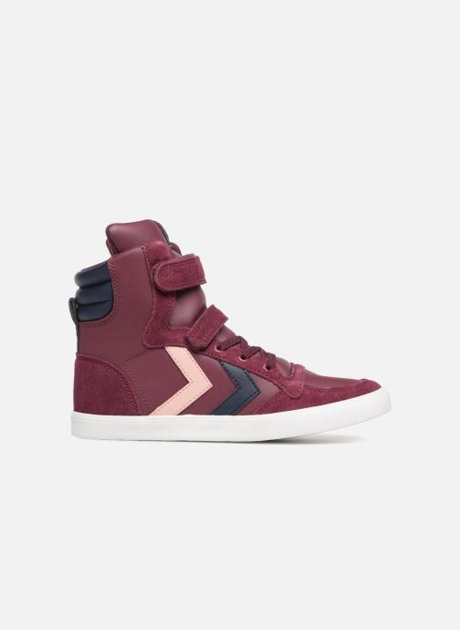 Sneakers Hummel Slimmer Stadil Jr Bordeaux achterkant
