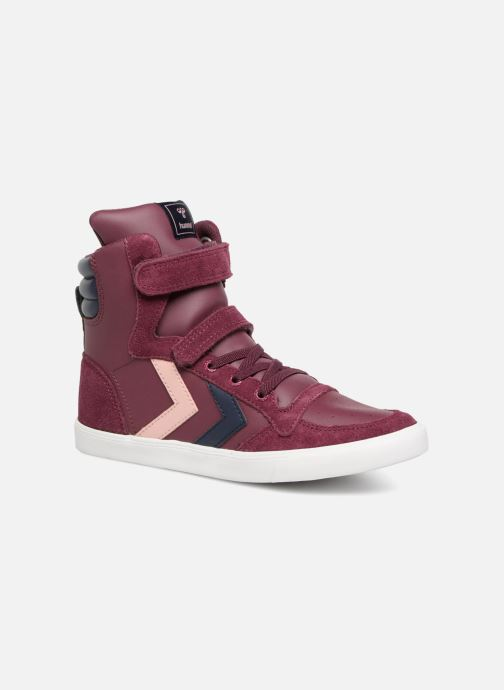 Sneakers Hummel Slimmer Stadil Jr Bordeaux detail