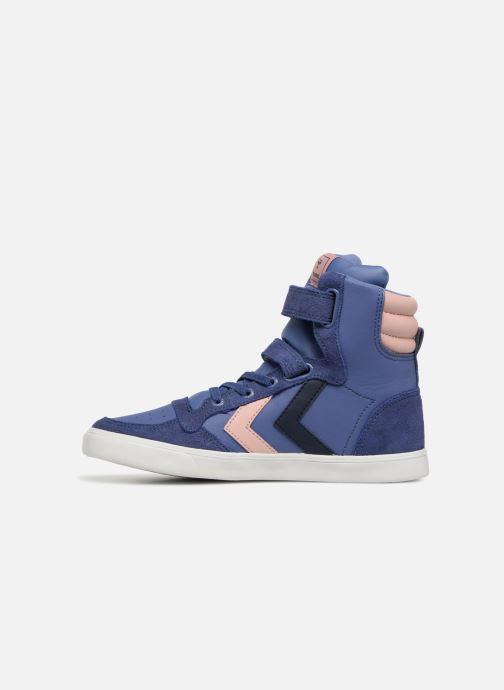Sneakers Hummel Slimmer Stadil Jr Paars voorkant