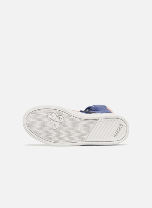 Trainers Hummel Slimmer Stadil Jr Purple view from above