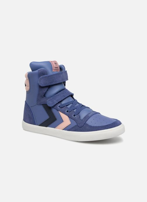 Trainers Hummel Slimmer Stadil Jr Purple detailed view/ Pair view
