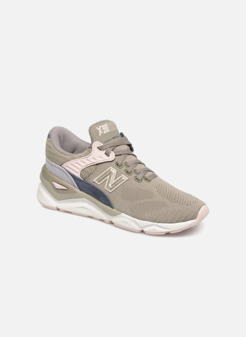 Trainers New Balance WSX90 Green detailed view/ Pair view