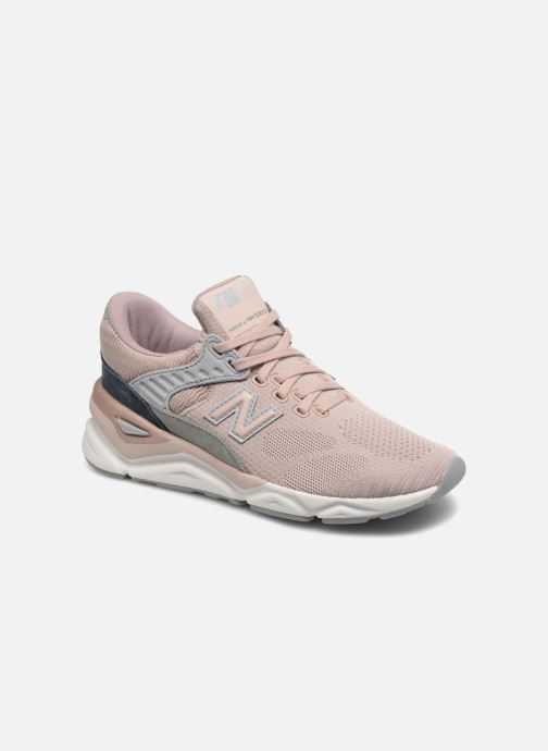 Baskets New Balance WSX90 Rose vue détail/paire