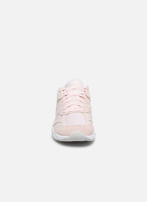 Baskets New Balance WSX90 Rose vue portées chaussures
