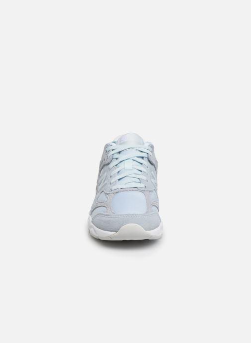 Sneaker New Balance WSX90 blau schuhe getragen