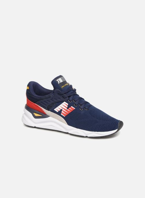 Trainers New Balance MSX90 Blue detailed view/ Pair view