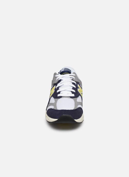 Baskets New Balance MSX90 Blanc vue portées chaussures