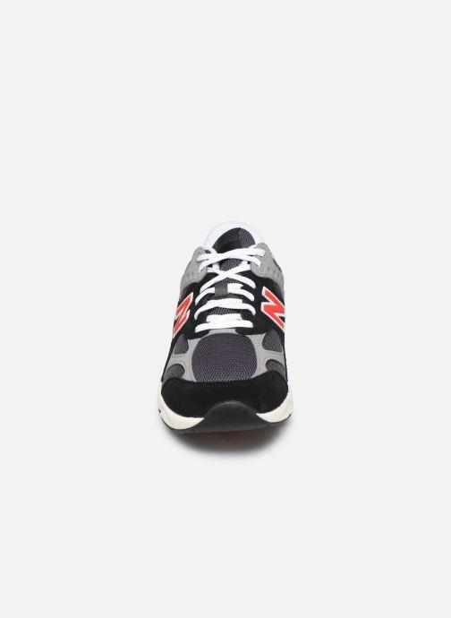 Sneaker New Balance MSX90 schwarz schuhe getragen