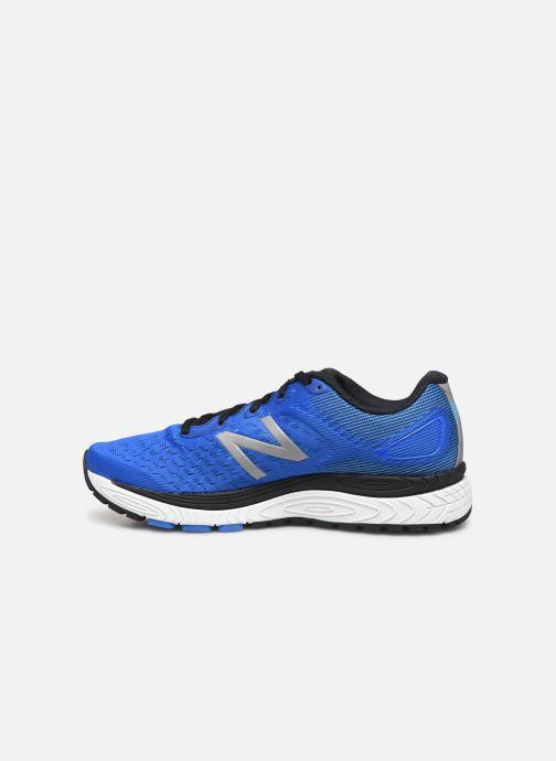 Zapatillas de deporte New Balance MSOLV Azul vista de frente