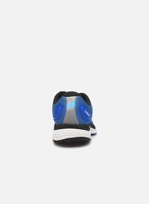 Zapatillas de deporte New Balance MSOLV Azul vista lateral derecha