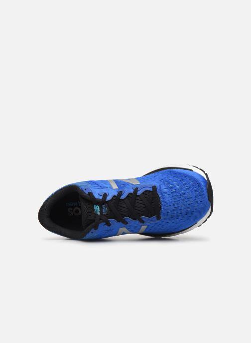 Zapatillas de deporte New Balance MSOLV Azul vista lateral izquierda