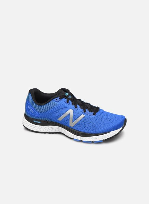 Chaussures de sport New Balance MSOLV Bleu vue détail/paire