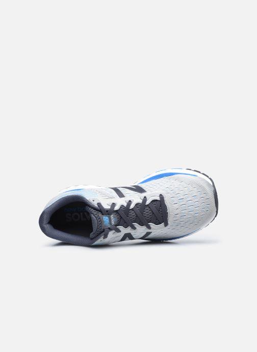 Sportschuhe New Balance MSOLV grau ansicht von links