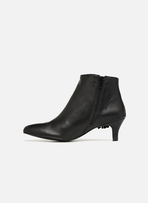 Bottines et boots Georgia Rose Hepopoma Noir vue face