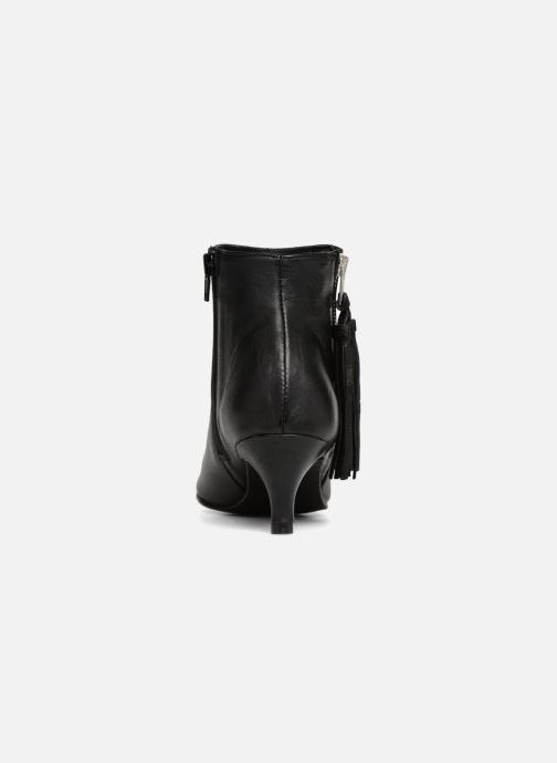 Bottines et boots Georgia Rose Hepopoma Noir vue droite