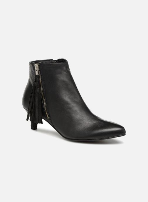Bottines et boots Georgia Rose Hepopoma Noir vue détail/paire