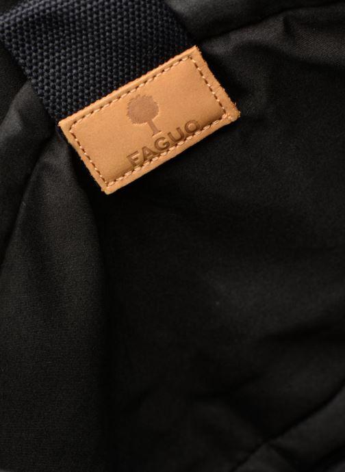 Laptop cases Faguo MESSENGER01 Black back view