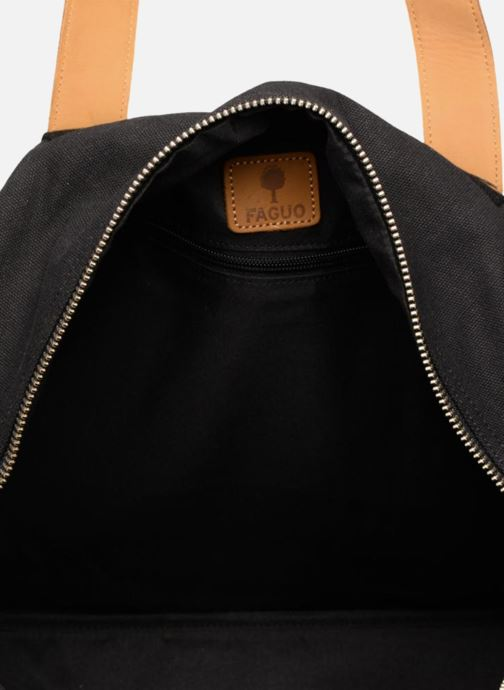 Sporttassen Faguo BAG4801 Zwart achterkant